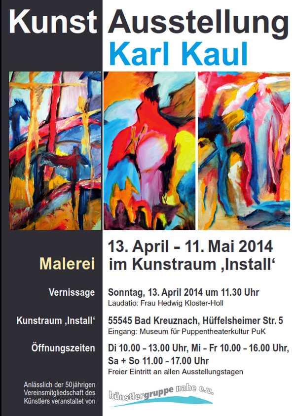 Ausstellung Malerei Kaul