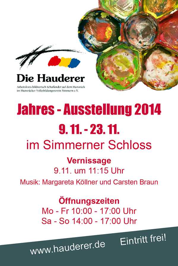 Hauderer Jahresausstellung 2014