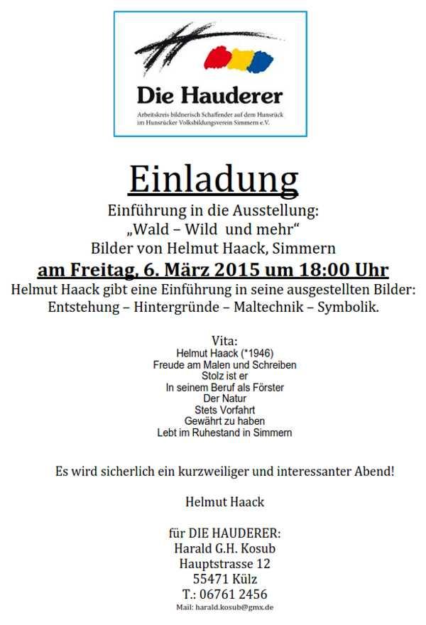Helmut-Haack-Ausstellung