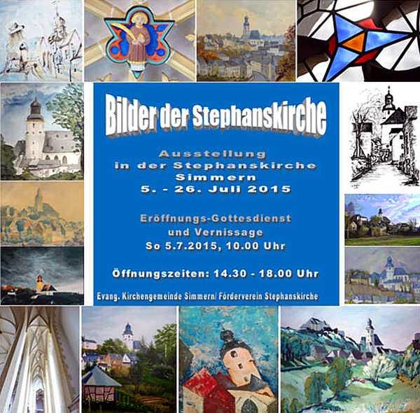Ausstellung Stephanskirche Simmern 2015