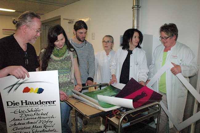 Ausstellung in der Hunsrückklinik