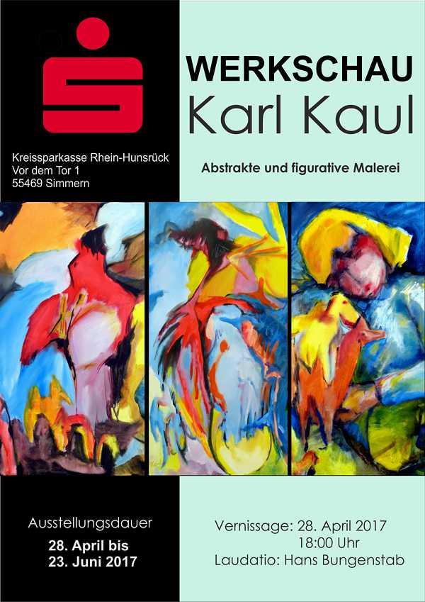 Ausstellung Kaul KSK Simmern