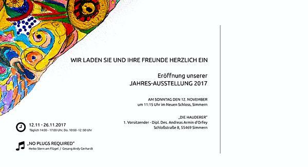 Hauderer Jahresausstellung 2017