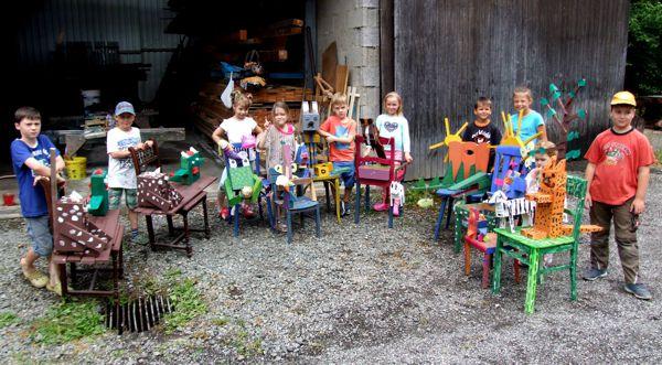 Stuhlkurs der Kindermalschule