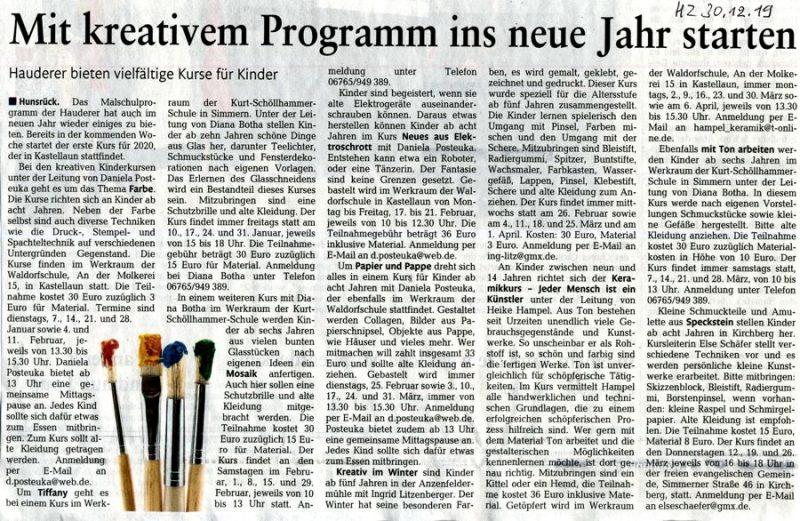 Malschulprogramm Presse2020