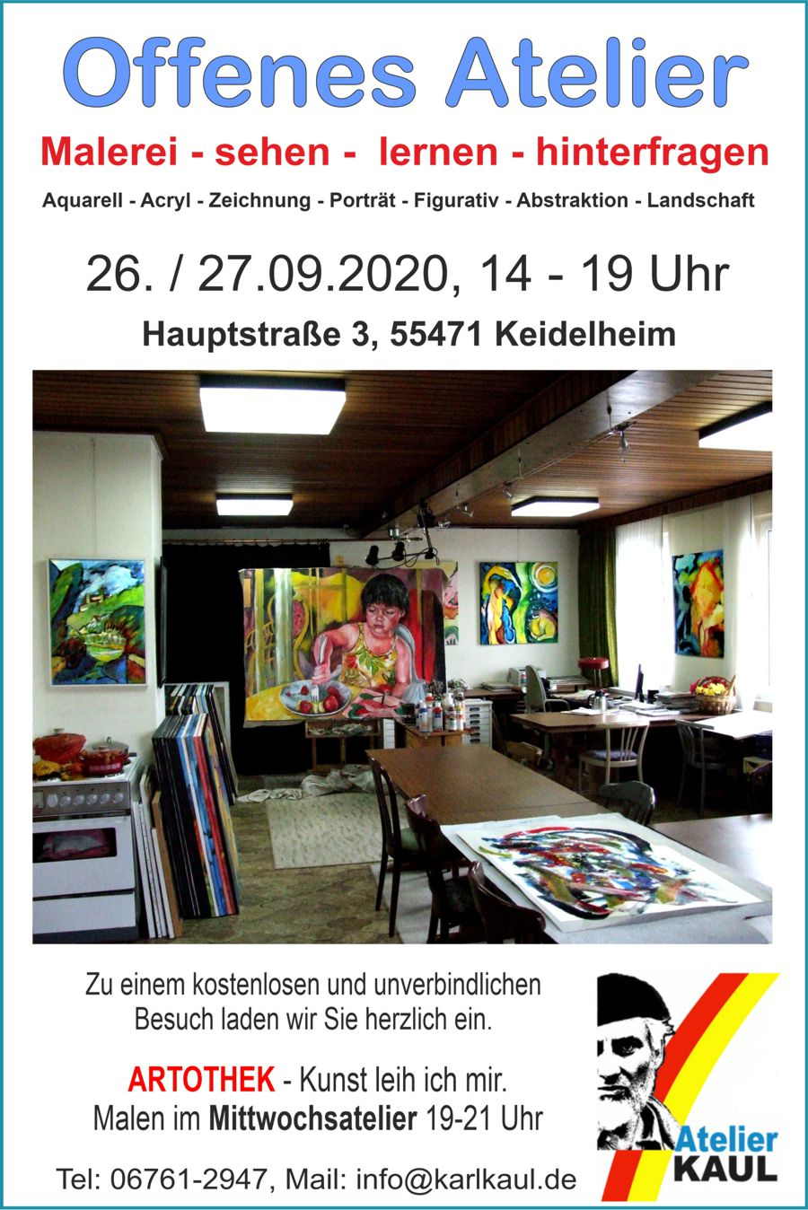 Offenes Atelier Karl Kaul 2020