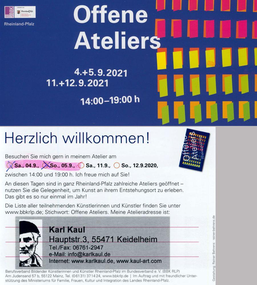 Offenes Atelier Karl Kaul